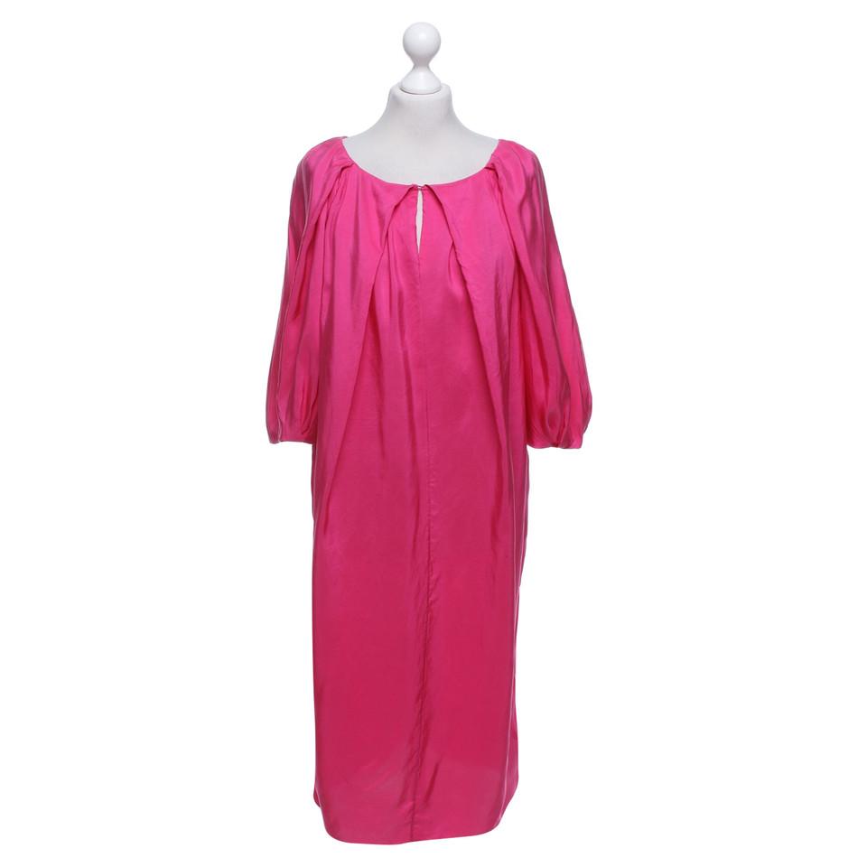 l k bennett pinkfarbenes seidenkleid second hand l k bennett pinkfarbenes seidenkleid. Black Bedroom Furniture Sets. Home Design Ideas