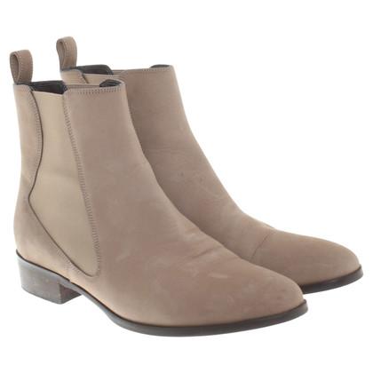 L.K. Bennett Chelsea boots in beige