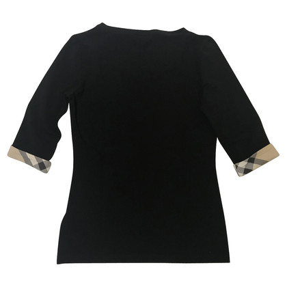 Burberry Shirt in Schwarz