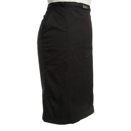 Moschino Pin skirt in black