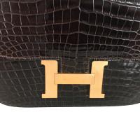 "Hermès ""Constance bag"" made of crocodile leather"