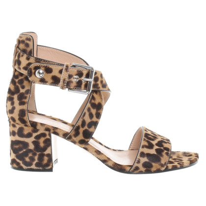 Gianvito Rossi Sandaletten in Animal-Print