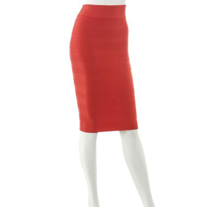 Karen Millen Stretchrock in red