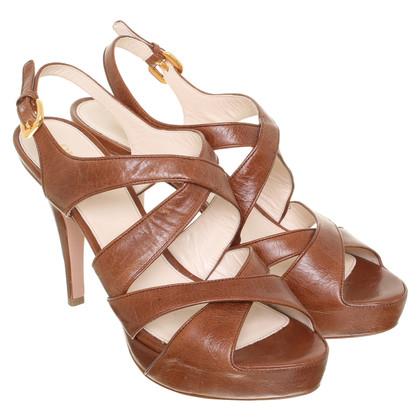 Prada Sandaletten aus Leder