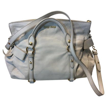 "Miu Miu ""Bow Bag"" in bianco"