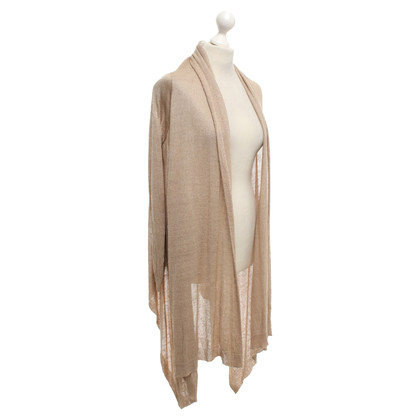 DKNY Strickjacke in Beige