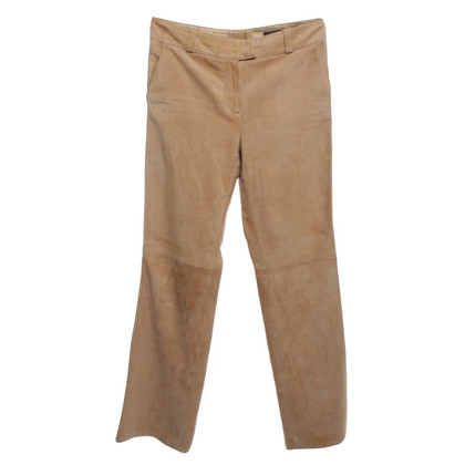 Rena Lange Camelfrebene trousers from suede