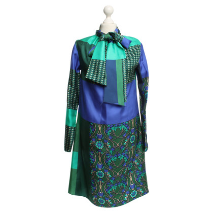 Andere Marke P.A.R.O.S.H. - Kleid mit Patchwork-Muster