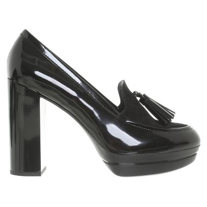 Hogan pumps in black