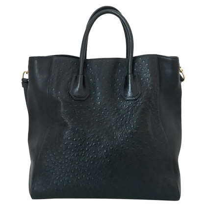 Givenchy Shopper from ostrich leather