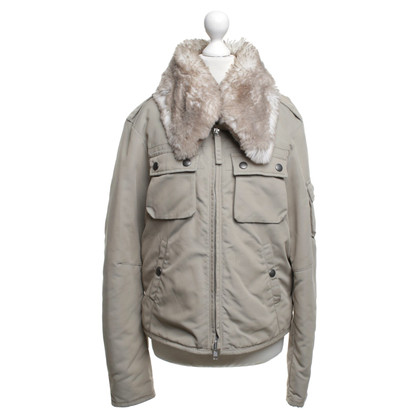 Cinque Jacket in beige color