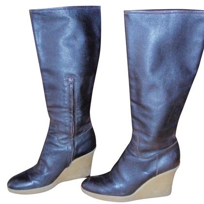 Pollini Wedge boots
