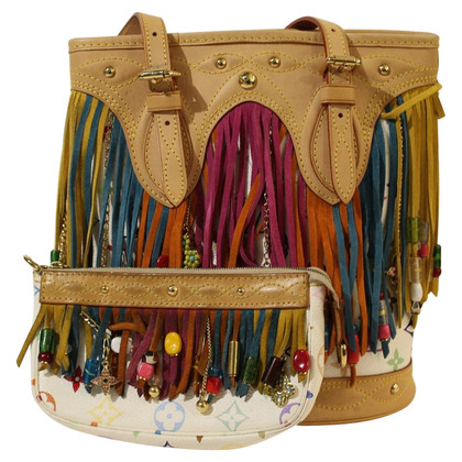 "Louis Vuitton ""Fringe Bucket Bag Monogram Multicolore Canvas"""