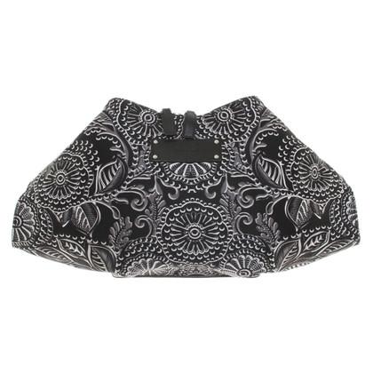 McQ Alexander McQueen clutch in Black / White