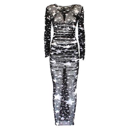 Dolce & Gabbana Jurk met sterpatroon