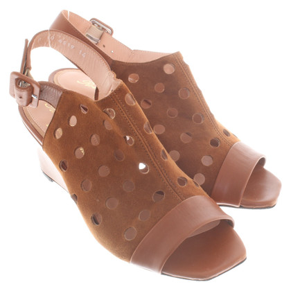 Robert Clergerie Sandals in brown