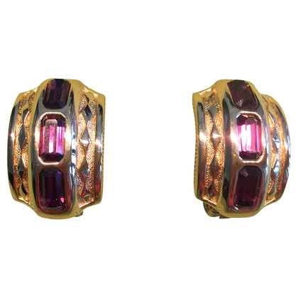 Burberry Vintage clip earrings