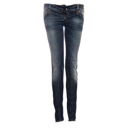 Dsquared2 middle blue biker jeans