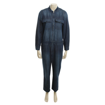 Madewell Denim overalls in blue