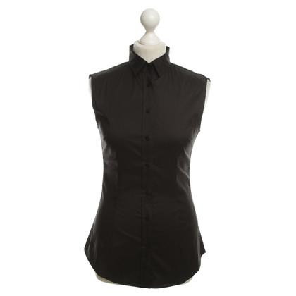 Dolce & Gabbana Maniche camicetta in nero