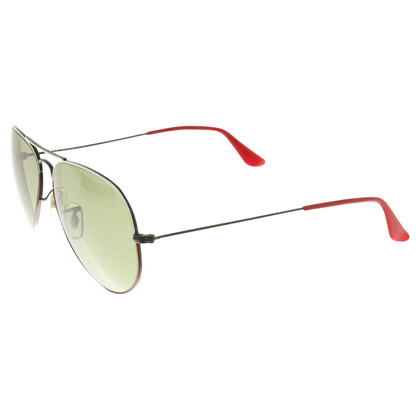 Ray Ban Sunglasses in black / red