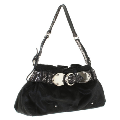 Aigner Shoulder bag with pony fur