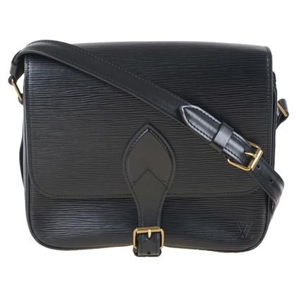 """Louis Vuitton """"Cartouchière GM Epi leather"""" in black"""