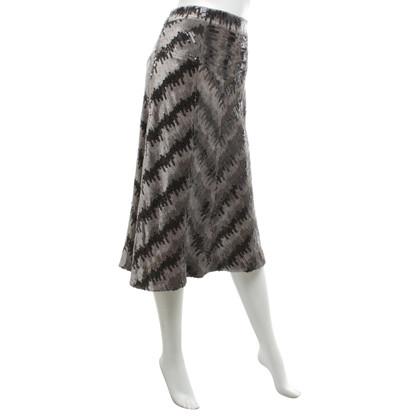 Diane von Furstenberg String skirt with sequin trim