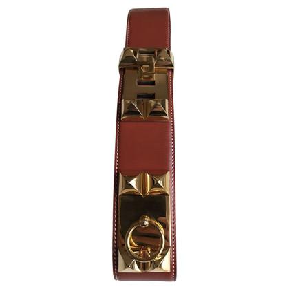 Hermès Collier De Chien Brique