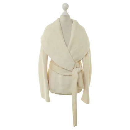 Aigner Wool jacket with wrap belt