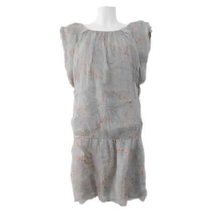 Andere Marke Seidenchiffon-Kleid