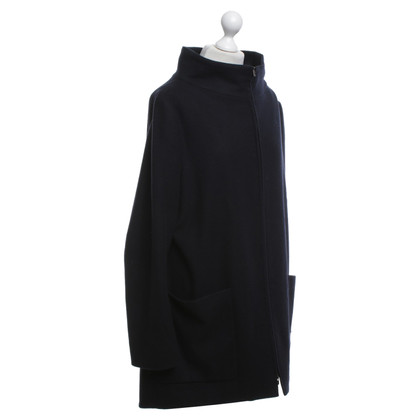 Jil Sander cappotto Purist in blu