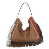 Jimmy Choo Shopper in dark brown