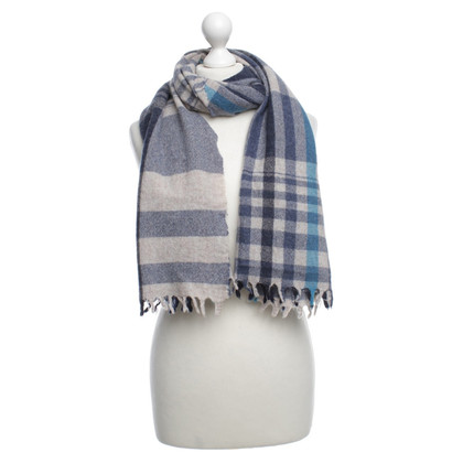 Woolrich Scarf with checked pattern