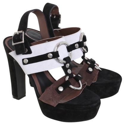 Marni Platform Sandals suede