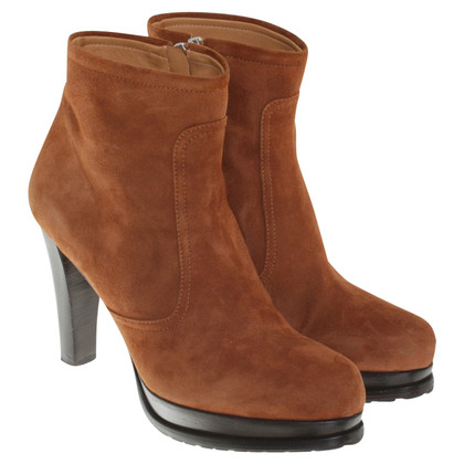 Marc Cain Ankle boots in brown