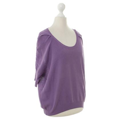 Sonia Rykiel Short-sleeved sweater in purple