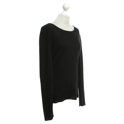 81 hours Cashmere sweater in black