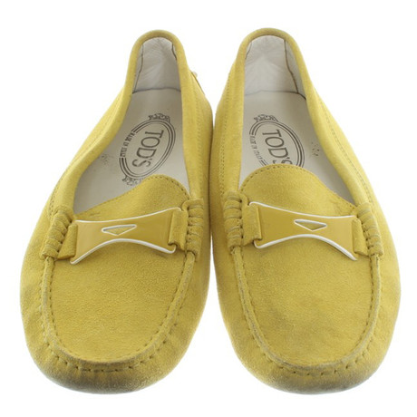 Loafer Tod's Loafer Tod's in Gelb Gelb 4qRvFRgwZ