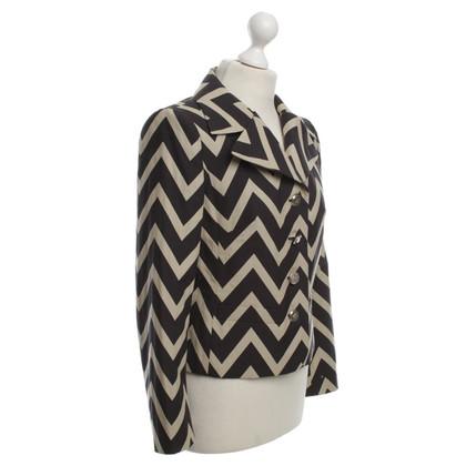 Escada Blazer with a zig-zag pattern