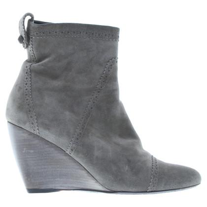 Balenciaga Stiefel aus Wildleder
