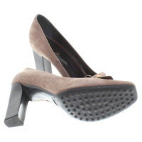 Tod's pumps in Taupe