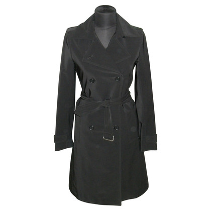 Theory Trench coat in nero