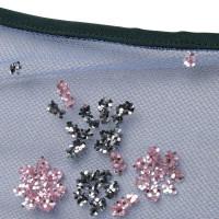 Mary Katrantzou Transparante jas met glitter