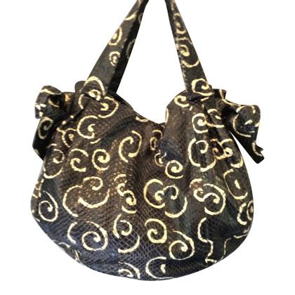 Miu Miu Python leather handbag