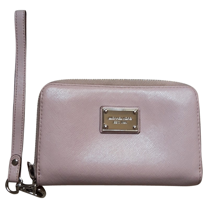 Michael Kors BagPurse Leather in Pink Second Hand Michael