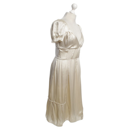 Miu Miu Silk dress in cream
