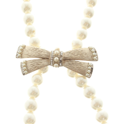 Chanel pearl necklace