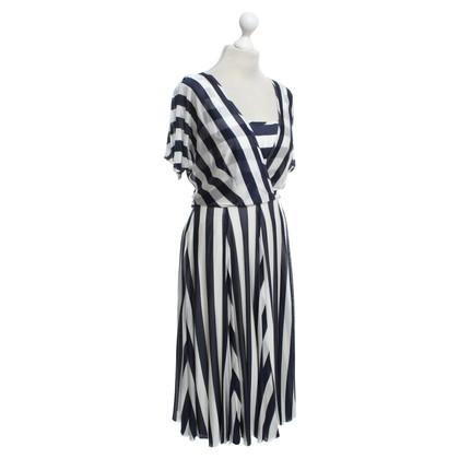 Karen Millen Dress with stripe pattern