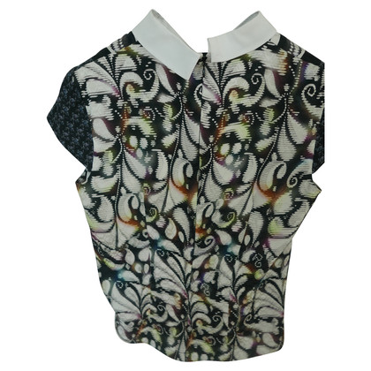 Peter Pilotto Elegant blouse short sleeve